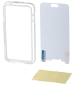 hama Cover Edge Protector für Samsung Galaxy S5 mini, weiss