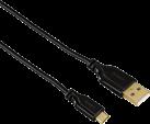 hama Cavo Micro-USB Flexi-Slim, 0.75 m, nero