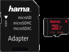 hama microSDHC Class 3 UHS-I + Adapter/Action-Cam - Speicherkarte - 32 GB - Schwarz