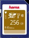 hama SDXC Class 10 UHS-I - Carte mémoire - 256 GB - Noir