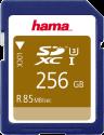 hama SDXC UHS-I - Scheda di memoria - 256 GB - Blu