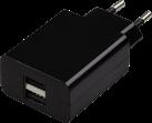Hama Chargeur USB - Adaptateur secteur - noir