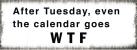 xavax Dekoschild Calendar