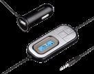 hama Auto-Scan - FM-Transmitter - 3.5 mm-Klinkenanschluss - Schwarz