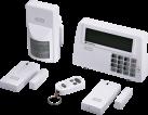 xavax FeelSafe - Funk-Alarm-System - Reichweite bis zu 250 m - Weiss