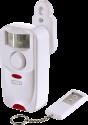 xavax Bewegungs-Alarm-Sensor - mit Fernbedienung - Weiss