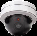 xavax Überwachungskamera-Attrappe - rund - Weiss