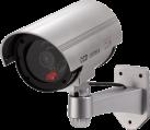 xavax Überwachungskamera-Attrappe - Silber