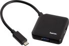 hama Hub USB 3.0 tipo C 1:4