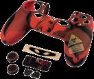 hama 7in1-pacchetto di accessori Undead per Dualshock 4 Controller del PS4
