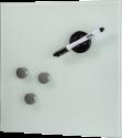 hama Glas-Magnetboard, 40 x 40 cm, weiss