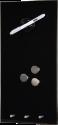 hama Glas-Magnetboard, 20 x 40 cm, schwarz
