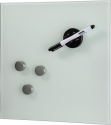 hama Glas-Magnetboard, 30 x 30 cm, weiss