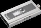 hama Lightning-USB-Kartenleser MoveData microSD, silber