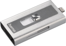 hama Lightning lettore scheda USB MoveData microSD, argento