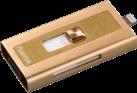 hama Lightning-USB-Kartenleser MoveData microSD, gold