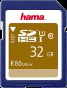 hama SDHC Class 10 UHS-I - Speicherkarte - 32 GB - Schwarz