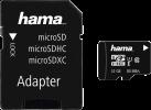 hama microSDHC Class 10 UHS-I + Adapter/Foto - Carte mémoire - 32 GB - Noir