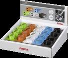 hama Chargeur USB pour voiture double - pour Tablet / PC - Multicolore