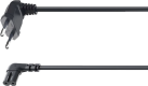 hama Cavo rete Euro, per Sonos PLAY:1/PLAY:5, 3 m, nero