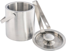 xavax Eiswürfel-Behälter-Set - Edelstahl