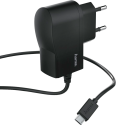 hama Caricabatteria - micro USB - Nero