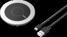 hama Comfort - Induktivladegerät - Für Handy/Smartphone - Schwarz