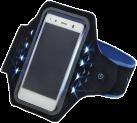 hama Sport-Armband Active, L, blau