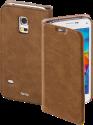 hama Guard Case Opuscolo - Per Samsung Galaxy S5 mini - Marrone