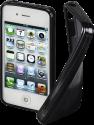 hama Crystal - per iPhone 4/4S - Nero
