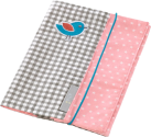 Housse pour cahier sanitaire - Girl's Pink