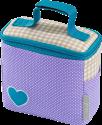 Sac isotherme pour petits pots bébé Hama - Violet