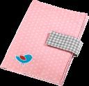 hama Windeltasche mit Schnullerband - Pink