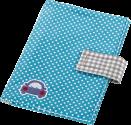 hama Windeltasche mit Schnullerband - Blau