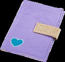 hama Windeltasche mit Schnullerband - Violett