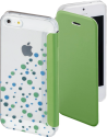 hama Booklet Candy Drops per Apple iPhone 5/5s/SE, verde