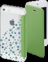 hama Étui portefeuille Candy Drops pour Apple iPhone 5/5s/SE, vert