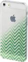hama Cover Blurred Lines für Apple iPhone 5/5s/SE, grün