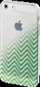 hama Coque Blurred Lines pour Apple iPhone 5/5s/SE, verte