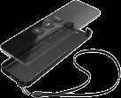 hama Pochette de protection Black Shell, pour Apple TV 4 Siri Remote