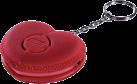xavax 176512 - Mobile Alarmsirene Herz - Rot