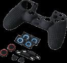 hama 7in1-Zubehör-Paket Racing Set - für PS4/SLIM/PRO Dualshock 4 Controller - Schwarz