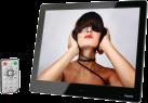 hama 97SLP - Cadre photo numérique - Slim - Argent