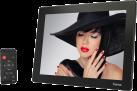 hama 121SLB - Cadre photo numérique - Slim - Noir