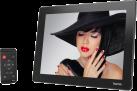 hama 121SLP - Cadre photo numérique - Slim - Noir