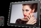 hama 150SLP - Digitaler Bilderrahmen -  Slim - Schwarz