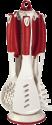 xavax 111577 - Küchenhelfer-Set - Rot/Weiss