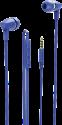 hama Basic+ - In-Ear-Kopfhörer - 20 - 20000 Hz - Blau