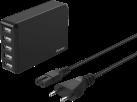 hama 173847 - Station de recharge USB - 5 ports - Noir