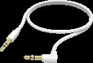 hama Verbindungskabel - 3.5-mm-Klinken-Stecker - 0.5 m - Weiss